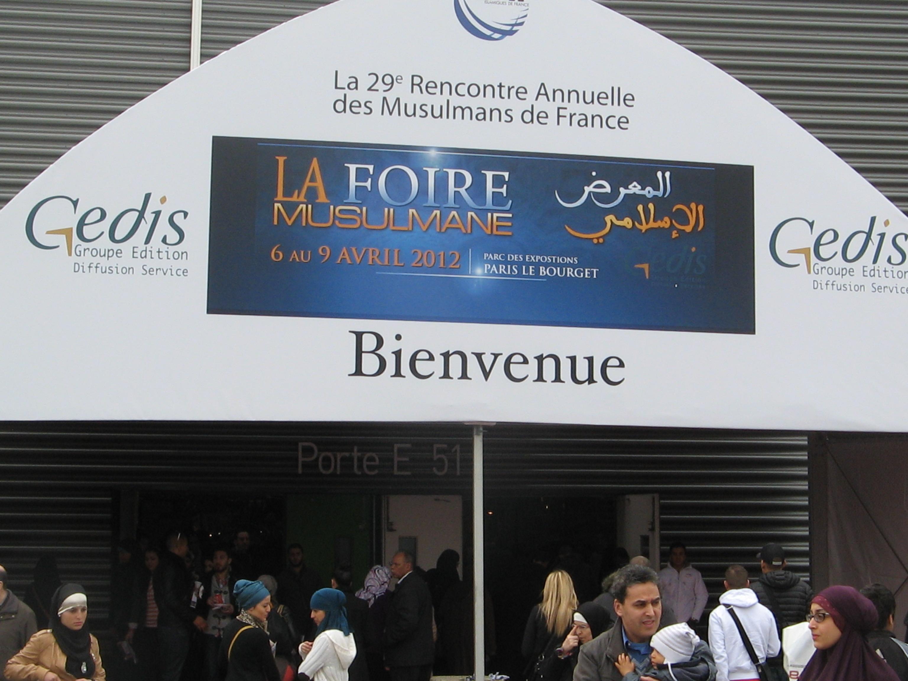 30eme rencontre annuelle des musulmans de france au bourget