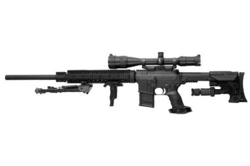 .223 calibre Bushmaster assault rifle