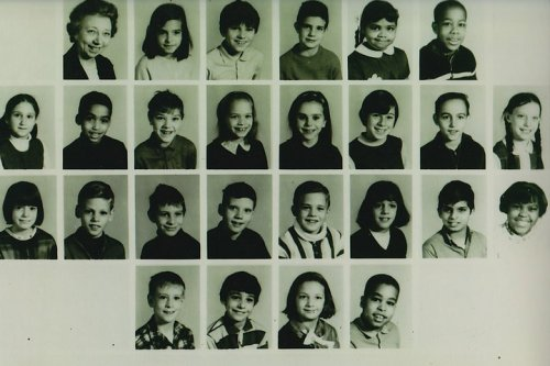Campus Elementary School Milwaukee 4th grade 1965-66