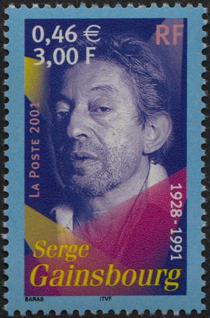La Poste timbre de 2001