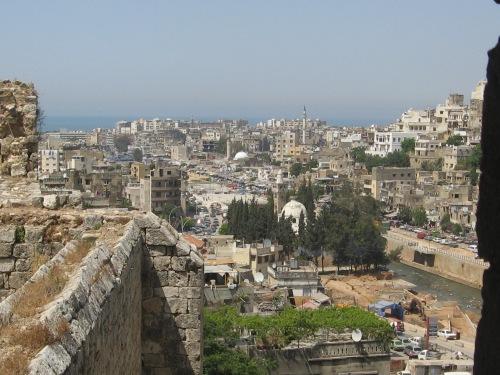 Tripoli, Lebanon, Bab al-Tabbaneh from the Citadel, May 2010 (Photo: Arun Kapil)
