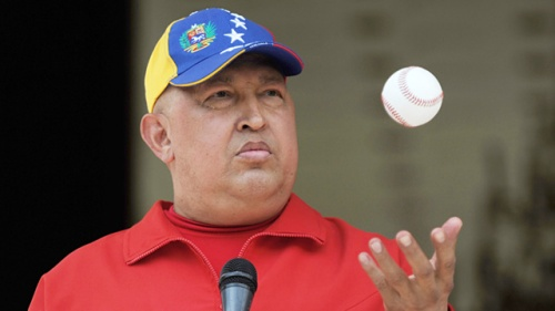 Hugo Chávez, Caracas, Sep. 29, 2011 (Photo: Juan Barreto/AFP/Getty Image)
