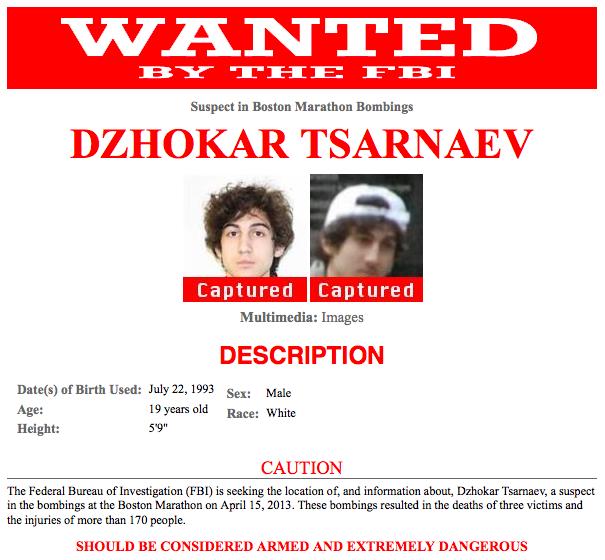 Boston Bombing Suspect Thought To Be Dzhokhar A Tsarnaev: The Boston Bombers – III