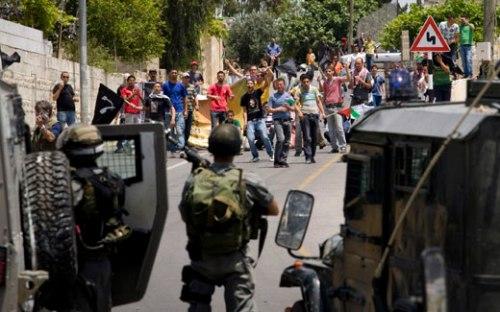 Nabi Saleh, West Bank, May 21 2010 (photo: Oren Ziv, activestills.org)
