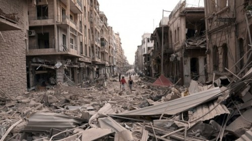 Aleppo, October 3 2012 (photo: SANA AP)