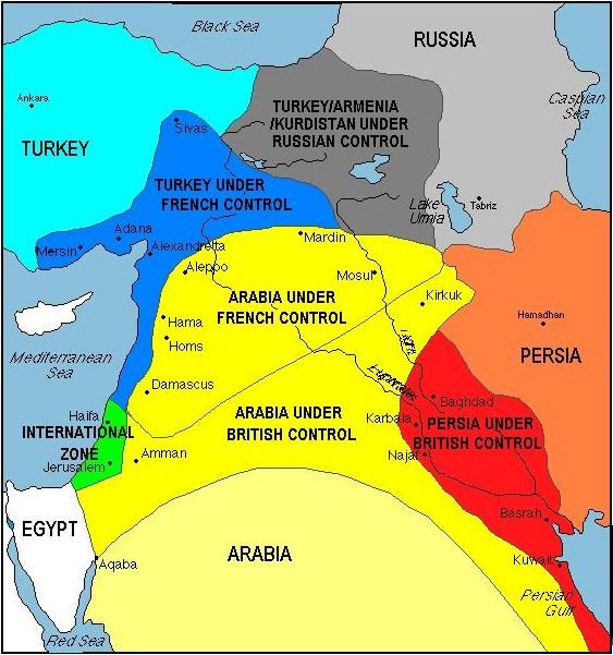 Syria is it the end of sykes picot arun with a view sykes picot platinumwayz