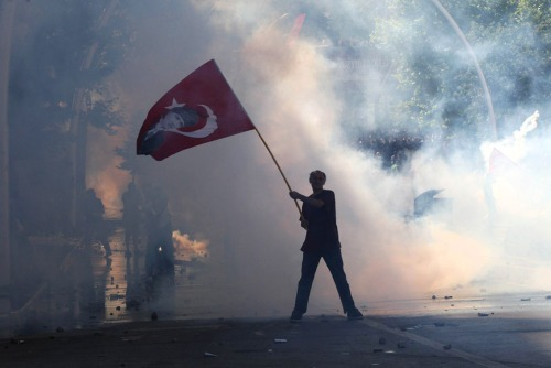 Ankara, June 1 2013 (Photo: Adem Altan/AFP/Getty Images)