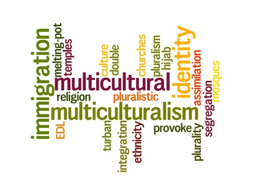 Multicultural wordle