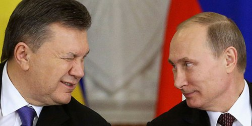 Viktor Yanukovich and Vladimir Putin, December 17 2013  (Photo: Reuters/Sergei Karpukhin)
