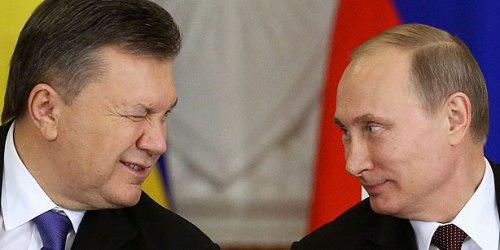Viktor Yanukovich and Vladimir Putin, December 17 2013  (Photo: Reuters/Sergei Karpukhin)