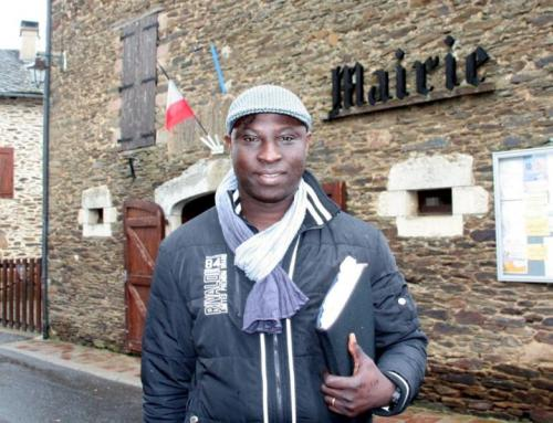 Simon Worou, Saint-Juliette-sur-Viaur (Photo La Dépêche.fr/DDM J.-L. P.)