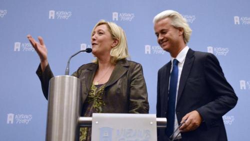 Marine Le Pen & Geert Wilders, The Hague, November 13 2013