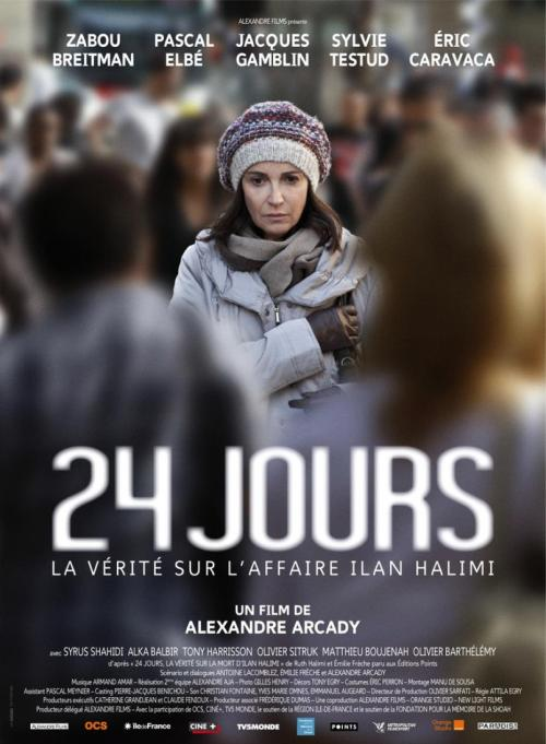 24 jours film affiche