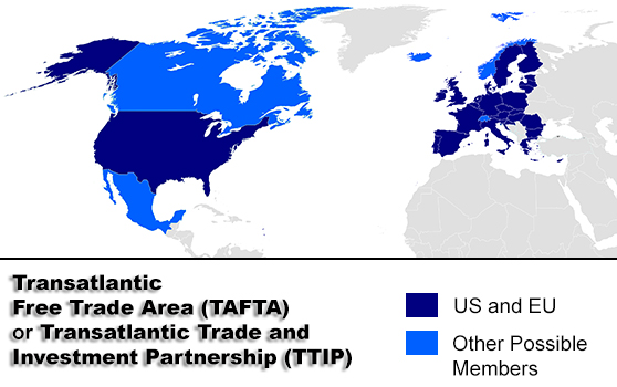 as the concrete prejudice to euan and american citizens not to mention the undermining of democracy of the ttip tafta will certainly far outweigh any