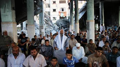 Gaza, July 28 2014 (photo: Euronews)