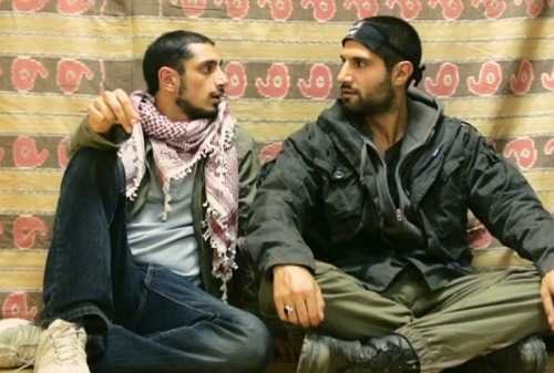 Riz Ahmed and Kayvan Novak in 'Four Lions' (credit: Magnolia Pictures)