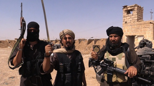 ISIS fighters (image: Vice News)
