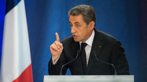 Nicolas Sarkozy in Lambersart (Nord), September 25th (photo: Philippe Huguen/AFP)