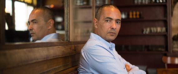 Kamel Daoud (photo credit: AFP/Bertrand Langlois)