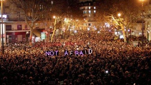 Paris, Place de la République, January 7th