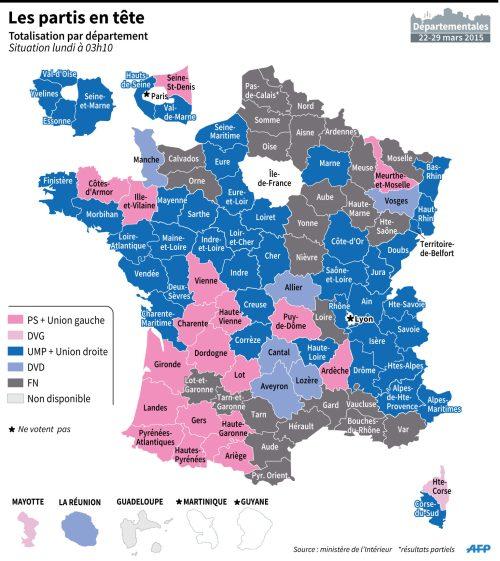 Les-resultats-des-elections-departemantales-par-departement