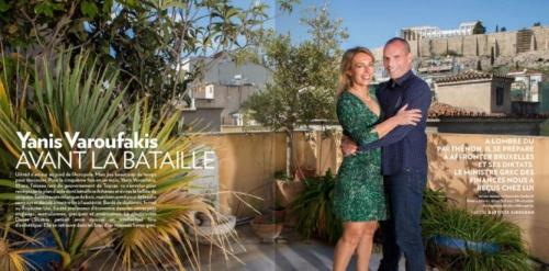 """Le reportage de """"Paris Match"""" sur Yanis Varoufakis."""