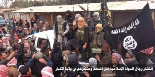 IS fighters, Anbar province, Iraq