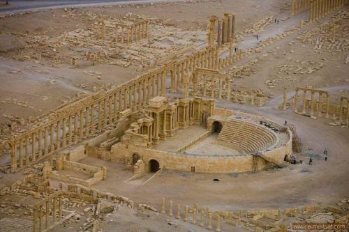 مدينة-تدمر-سوريا