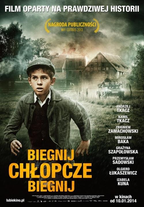lauf Junge lauf_polnische Plakat