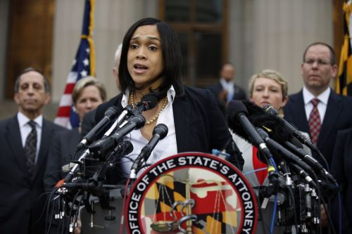 Marilyn Mosby, Baltimore, May 1st  (AP Photo/Alex Brandon)