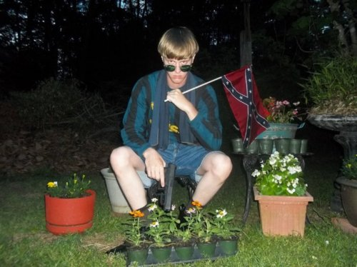 Dylann Roof (Photo via lastrhodesian.com)