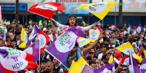 HDP seçim kutlamaları bugün 8 Haziran 2015