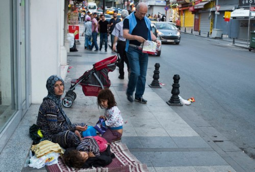 Syrian refugees, Istanbul (photo credit: Vocativ/Jodi Hilton)