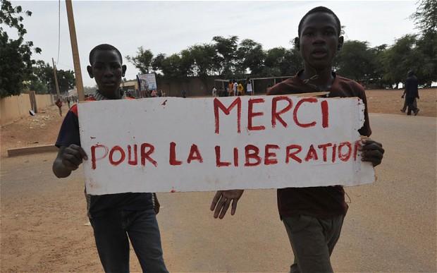 Ansongo, Mali, 29 January 2013 (photo: Kambou Siakmbou Sia/AFP/Getty Images)