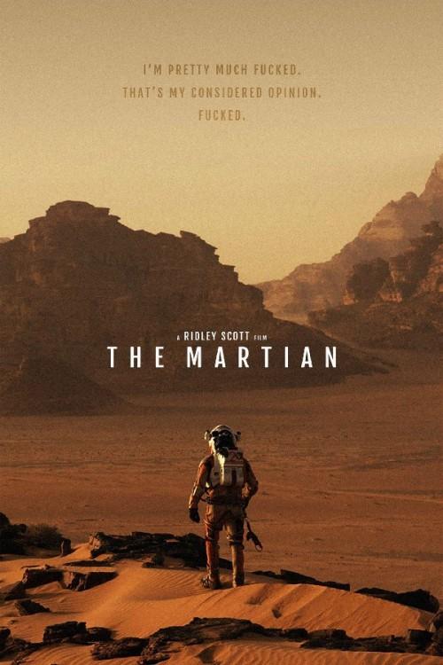 The-Martian-Movie-poster-Matt-Damon-Starring-Inspirational-font-b-Motivational-b-font-poster-Fabric-cloth