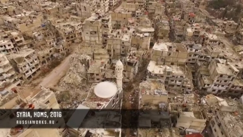 homs-drone-footage