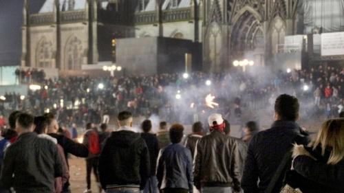 Cologne, December 31 2015 (Photo: Deutsche Presse-Agentur)