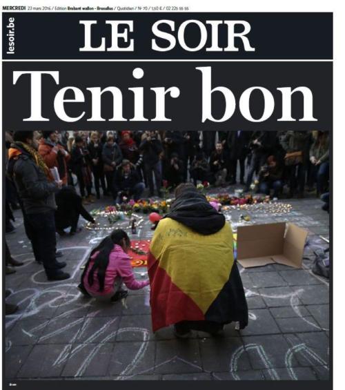 LE SOIR_TENIR BON