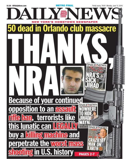 New York Daily News_June 13 2016