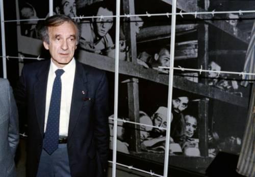 Elie Wiesel at Yad Vashem, 18 December 1986 (photo: AFP/Archives/Sven Nackstrand)