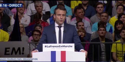 Emmanuel Macron, Lyon, 4 February 2017
