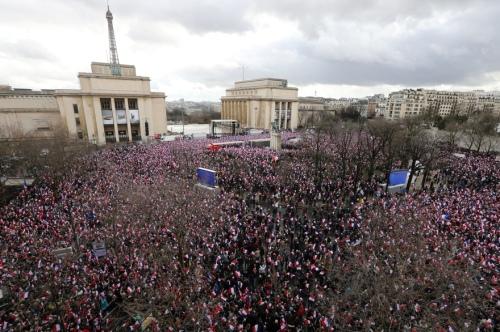 Paris, March 5th 2017 (photo: Jacques Demarthon/AFP via RTL)
