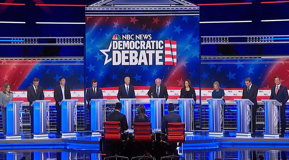 Democratic-Debate-2019-Part-Two-MSNBC-NBC | Arun with a View
